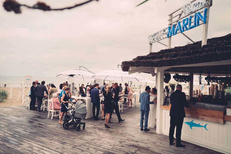 ślub nad morzem White Marlin